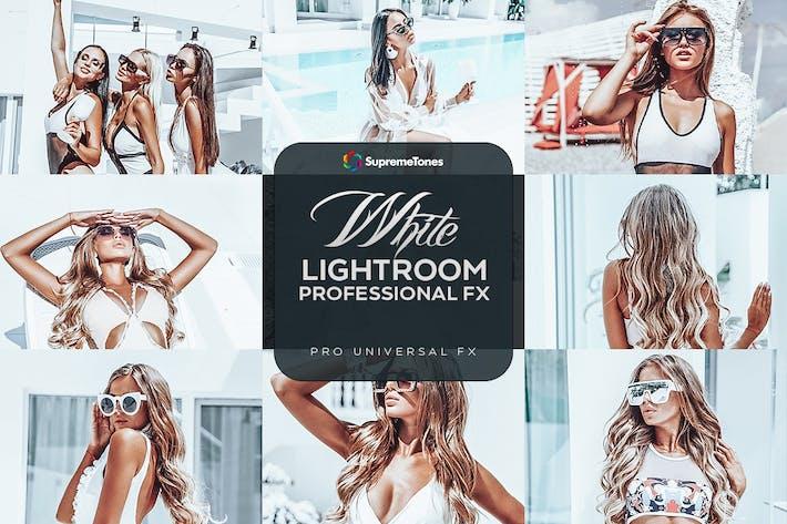 Minimal White Lightroom Presets
