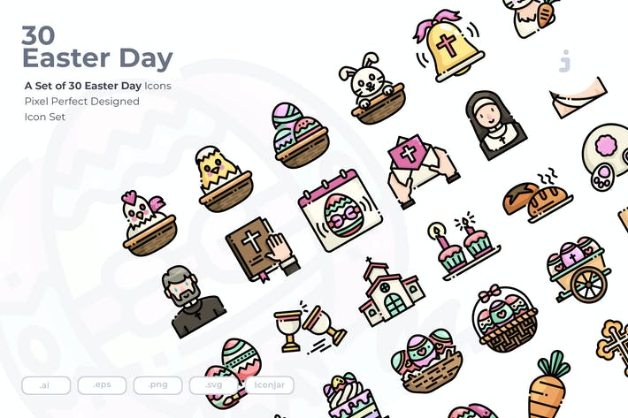 Thumbnail for 30 Easter Icons