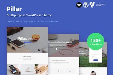 Pilar - Multi-Concepto Responsivo Tema de WordPress