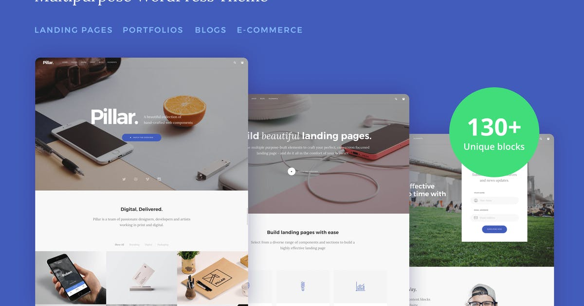 Download Pillar - Multi-Concept Responsive WordPress Theme by tommusrhodus
