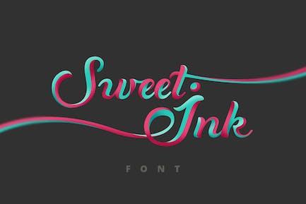 Calligraphie de police Sweet Ink