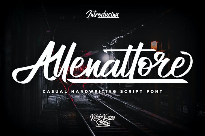 Thumbnail for Allenattore - Casual Script Font