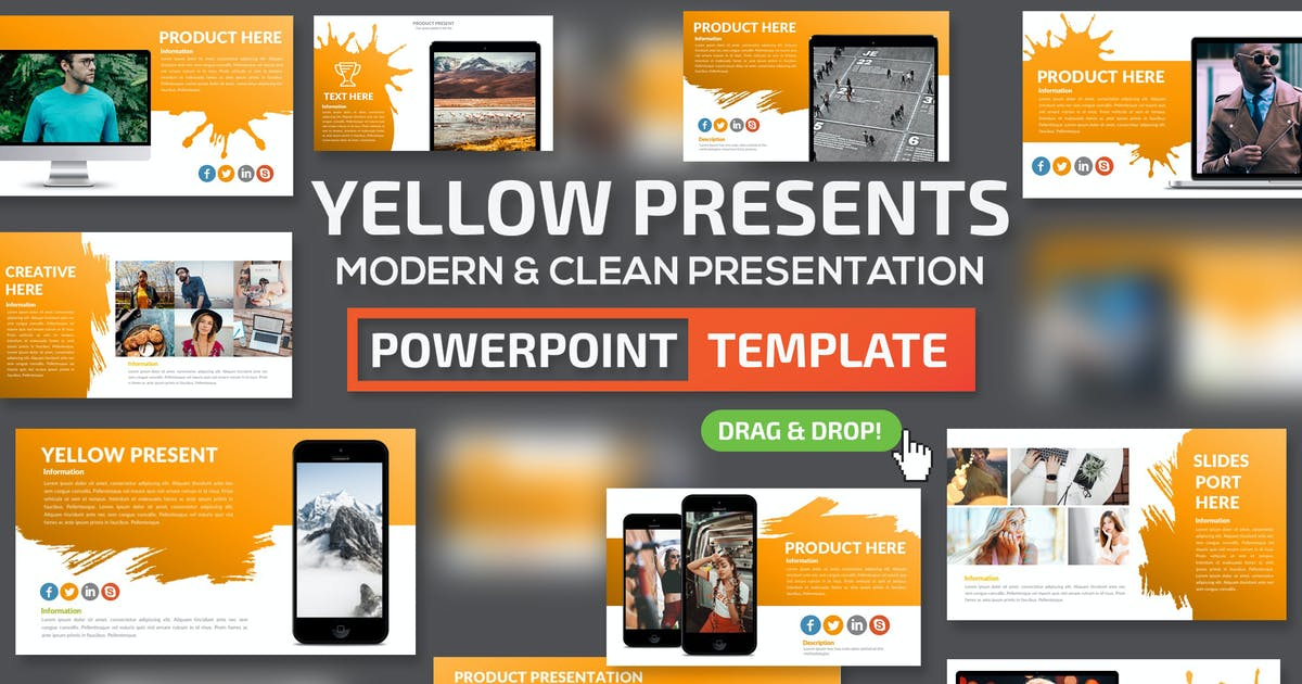 Download Yellow Slides Powerpoint Presentation by mamanamsai