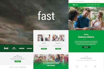Fast - Responsive E-mail Template