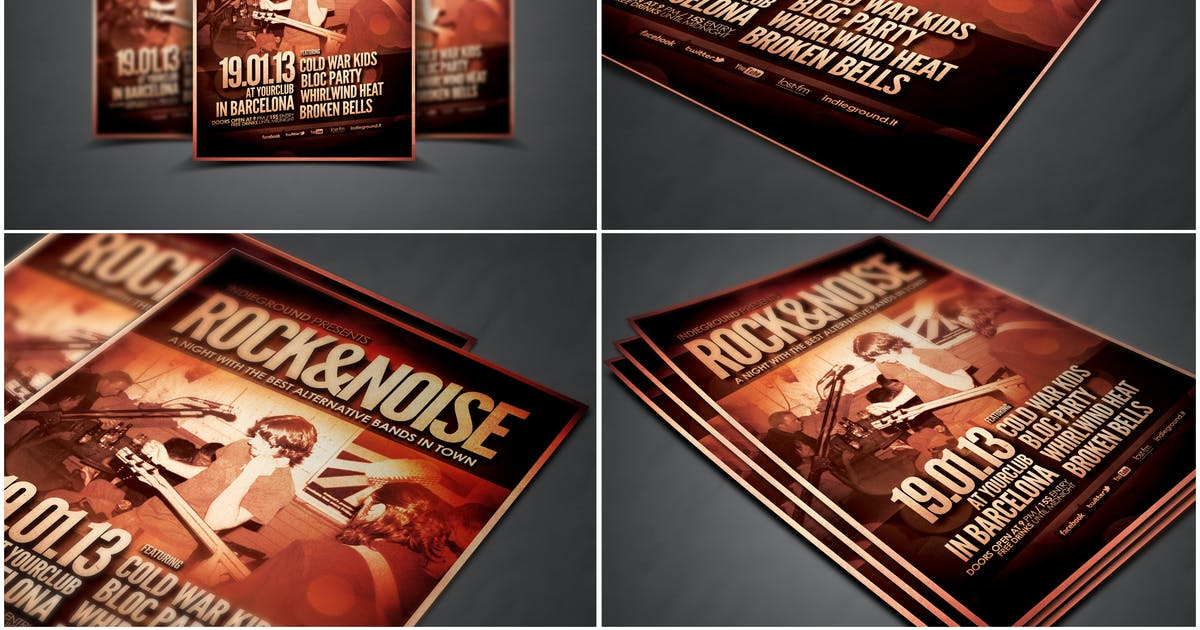 Download Flyer Mock Ups by RGraphicsDesign_NT