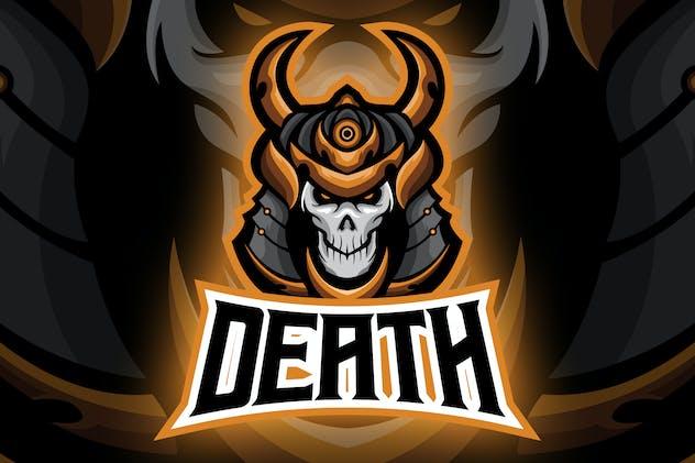 Undead Evil Ronin Esport Logo
