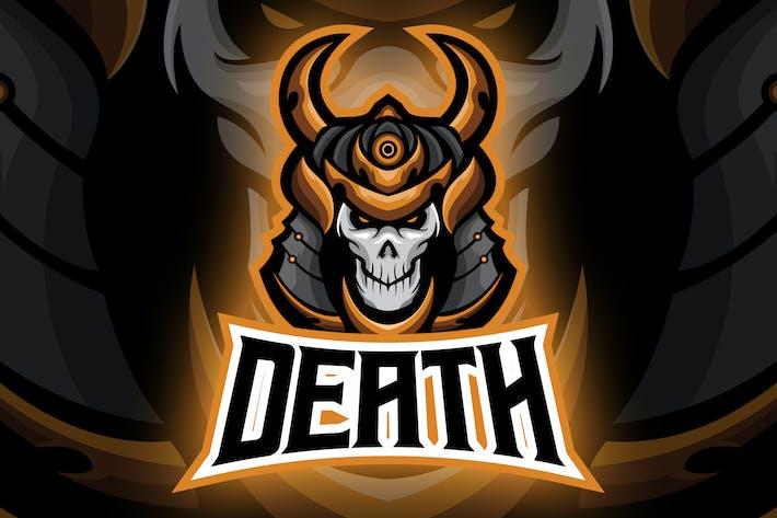 Thumbnail for Undead Evil Ronin Esport Logo