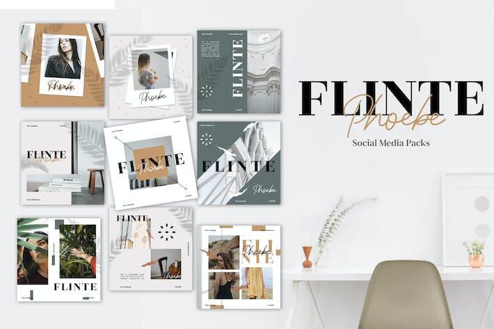 Thumbnail for Flinte Phoebe - Pack Medios de comunicación Social