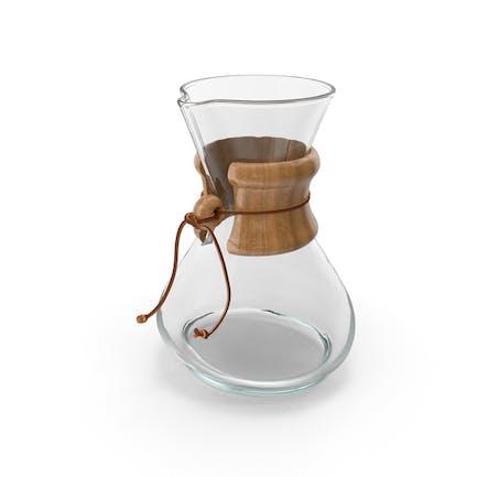 Glas-Kaffeekaraffe