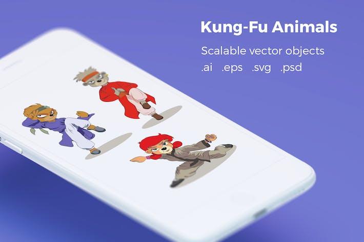 Thumbnail for Kung-Fu Animals