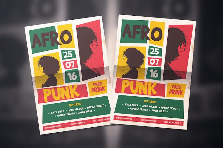 Thumbnail for Afro funk Flyer