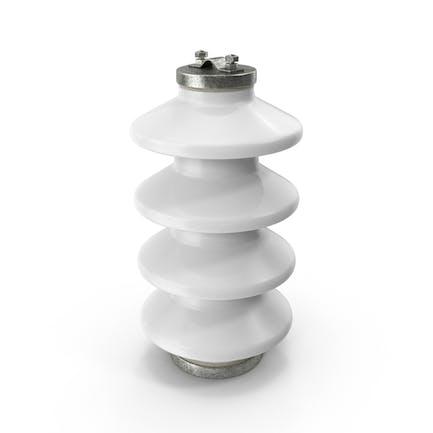 Aislador de cerámica