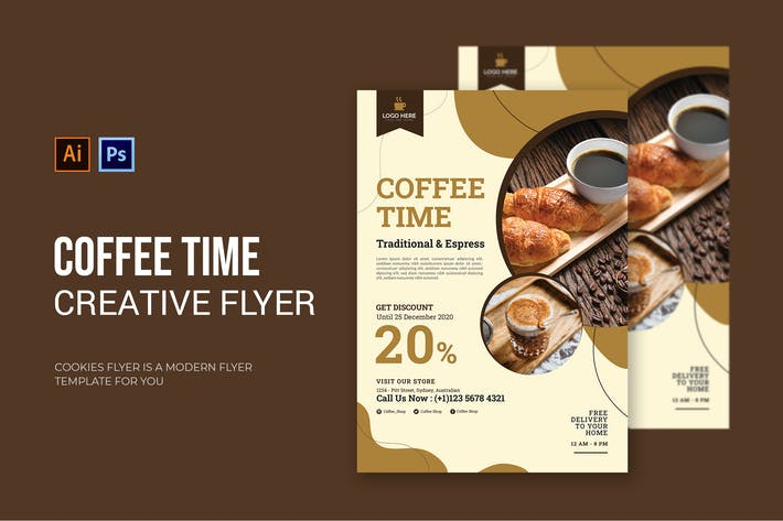 Coffee Times - Flyer