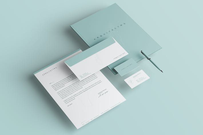 Thumbnail for Minimal Identity & Stationery Pack