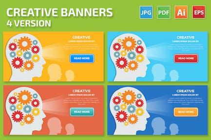 Creative Banners Design