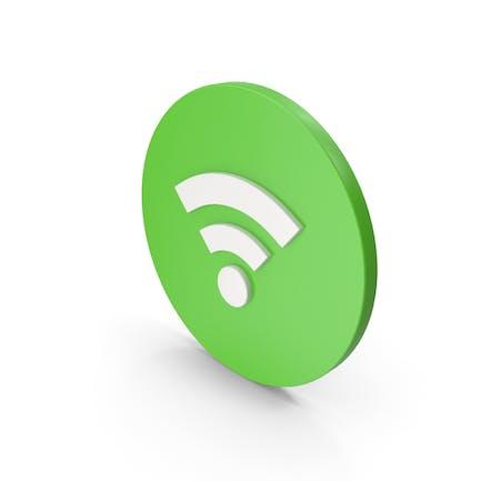 Wifi Икона Зеленый