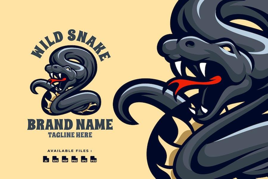 Wild Snake Logo