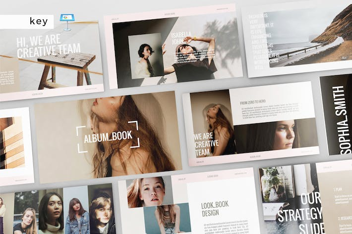 Thumbnail for ALBUM BOOK - Multipurpose Keynote Template V149