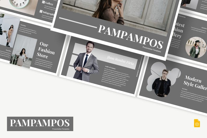Thumbnail for Pampampos - Google Slides Template