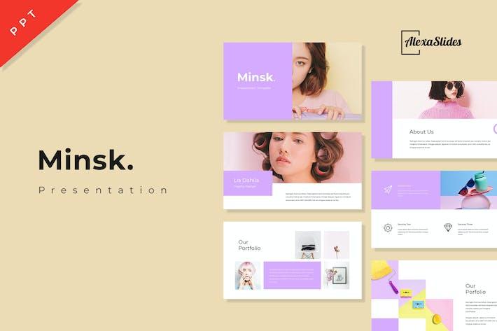 Minsk - Powerpoint Presentation Template