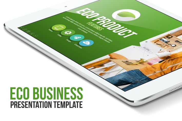 Cover Image For Eco Business Presentation Template