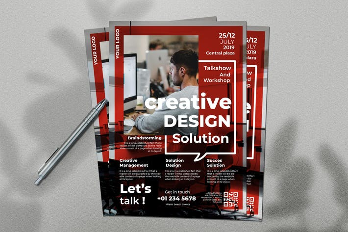 Thumbnail for Creative Solution Flyer