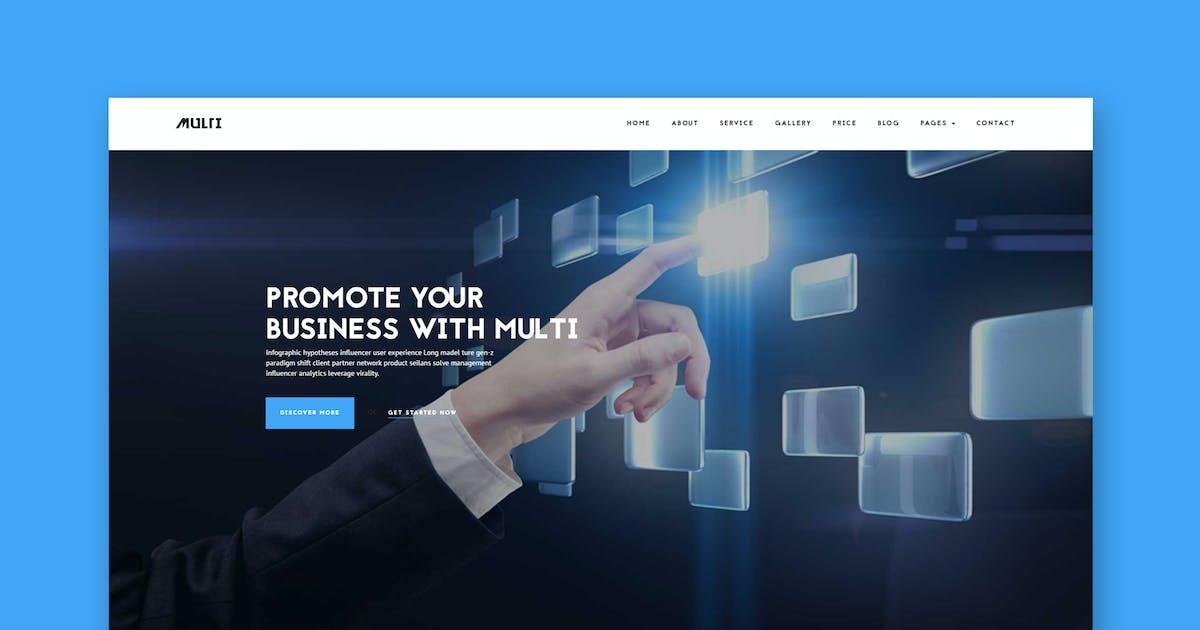 Download Multi - Friendly Multi-Purpose HTML Template by PremiumLayers