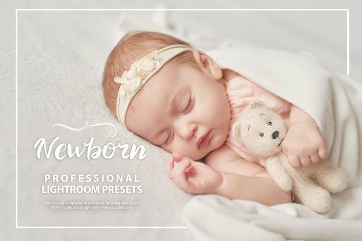 Thumbnail for 50 Newborn Lightroom Presets