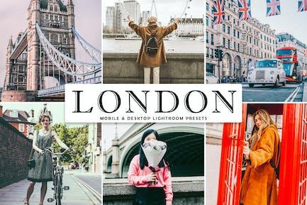 London Mobile & Desktop Lightroom Presets