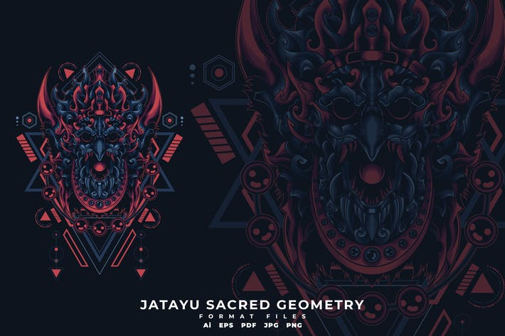 Thumbnail for JATAYU SACRED GEOMETRY