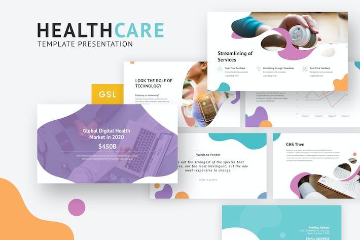 Thumbnail for HealthCare - Creative Google Slides Template
