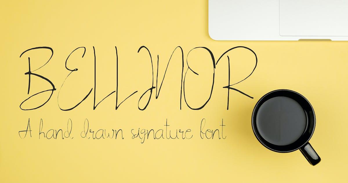 Download Bellinor Handmade Signature Font by creativetacos