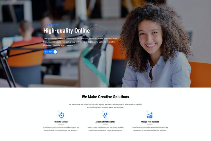 Thumbnail for Zaven - Responsive Business Service Drupal 8 Theme