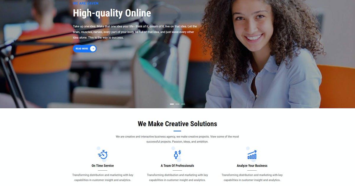 Download Zaven - Responsive Business Service Drupal 8 Theme by gavias