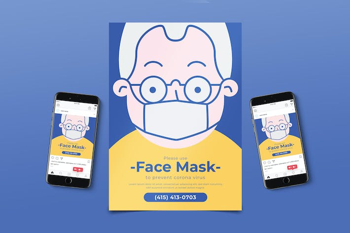 Thumbnail for Face Mask Flyer Pack