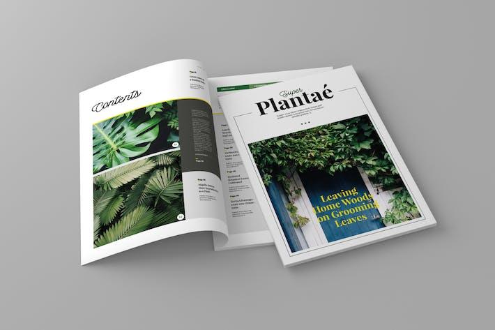 Thumbnail for Super Plantae - Magazine Template