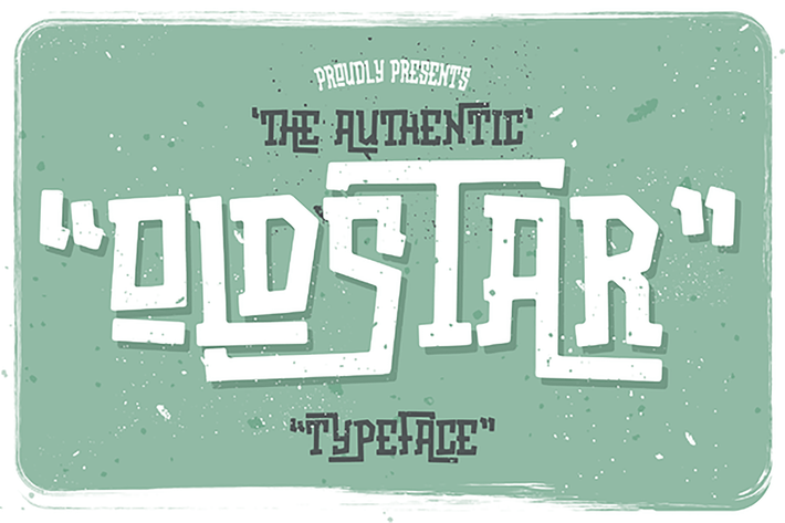 Cover Image For Oldstar Typeface