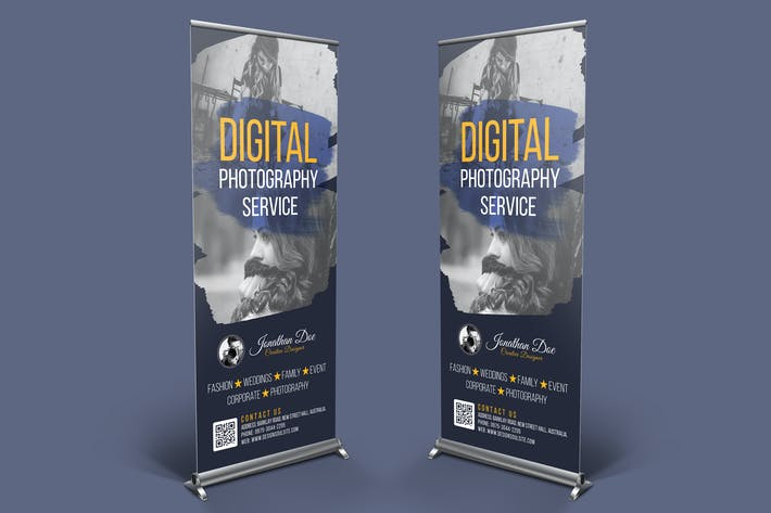 Thumbnail for Photography Rollup Banner