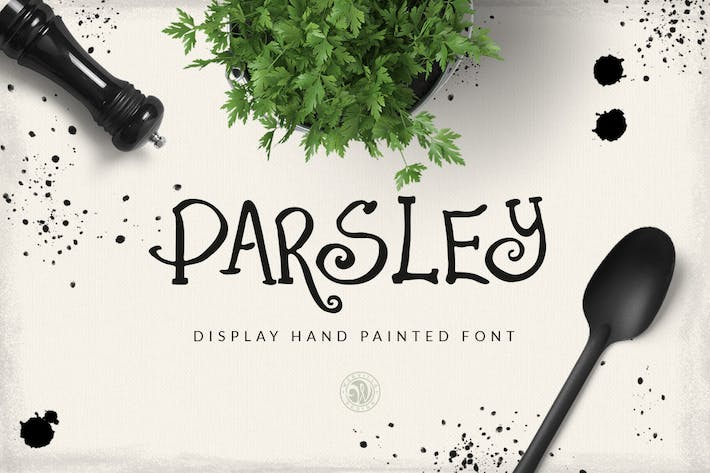 Thumbnail for Parsley Font