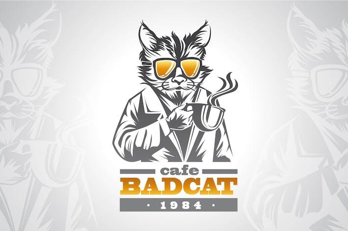 BAD CAT - Logo