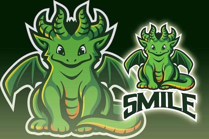 Thumbnail for Smilling Little Dragon Esport Logo