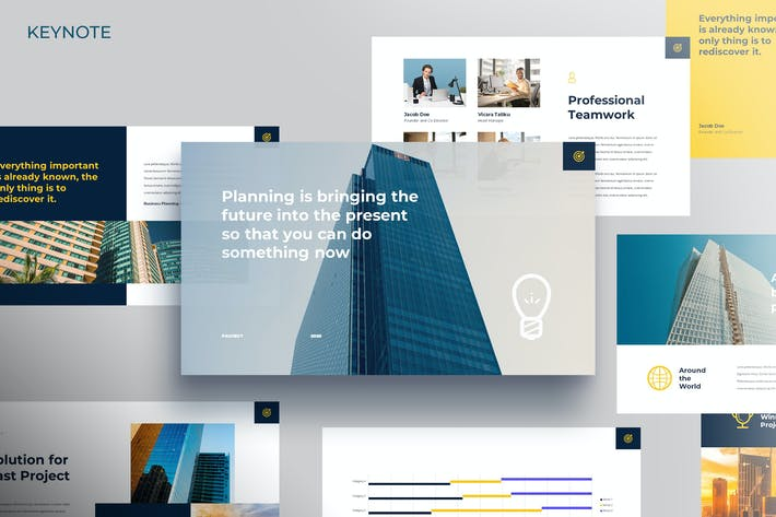 Thumbnail for Project - Marketing Keynote Template