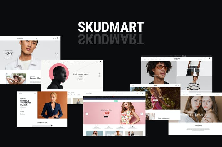 Thumbnail for Skudmart - Clean, Minimal WooCommerce Theme