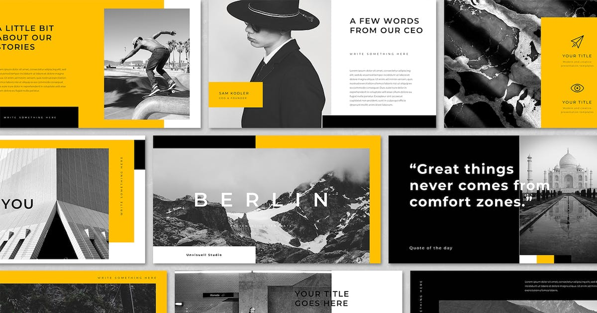 Download Creative Business PowerPoint Template by BervisualStd