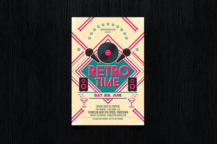 Thumbnail for Retro Time Flyer