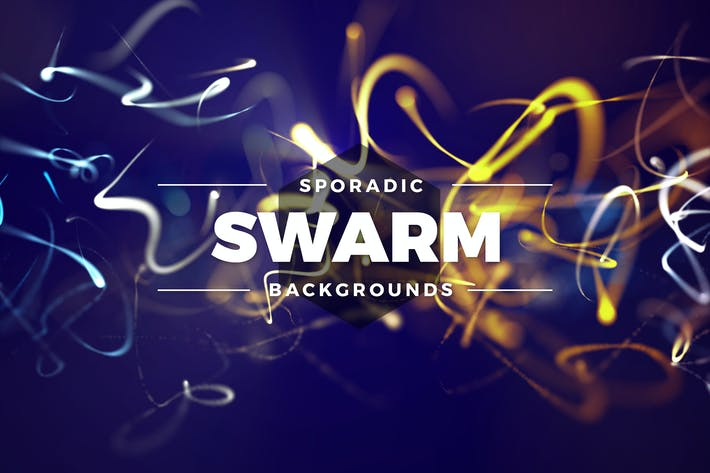 Thumbnail for Sporadic Abstract Swarm Backgrounds