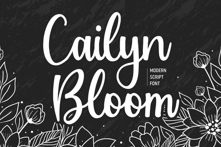 Thumbnail for Cailyn Boom Script Fuente YH