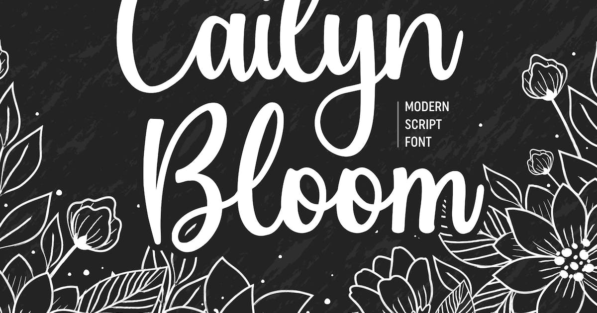 Download Cailyn Boom Script Font YH by GranzCreative