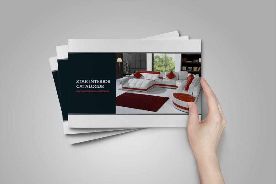 Interior Catalogue Templete