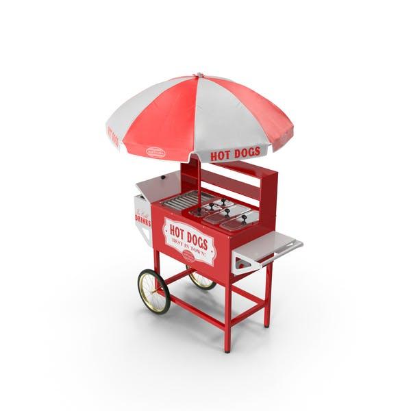 Hot Dog Vending Cart